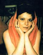 Fausta Squatriti ritratta da Man Ray nel 1974