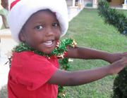 Una bambina di Haiti