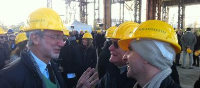 Renzo Piano alla ex Falck (foto F. Baron)