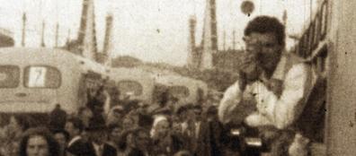 Immagini d'epoca nel film documentario che sarà proiettato il 12 all'Arcobaleno (Ansa)