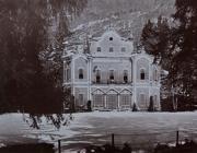 Villa De Vecchi all'epoca del suo splendore (foto Bettolini)