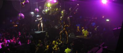 La discoteca De Sade
