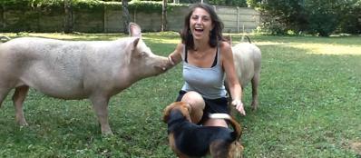 In questa fattoria gli animali diventano compagni di vita for Piani di fattoria bianca