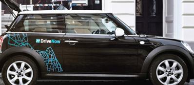 DriveNow, uno dei gruppi in gara per diventare il sesto operatore di car sharing in città (foto da Internet)
