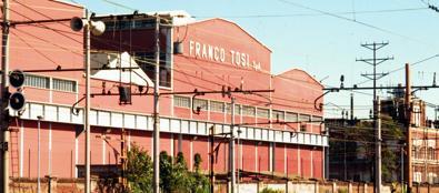 Lo stabilimento della Franco Tosi (Fotogramma)