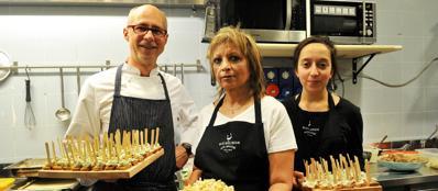 Lo chef Stefano Fable