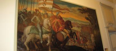 Il quadro esposto a Palazzo Isimbardi