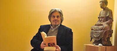 L'editore Matteo Luteriani (Fotogramma)