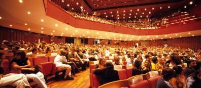 La platea del Piccolo Teatro