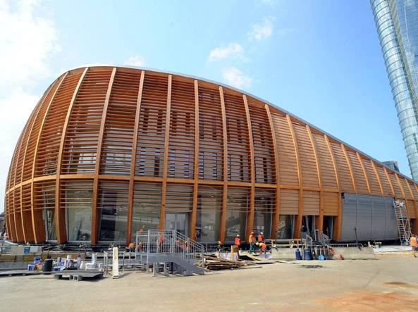 Pavilion viaggio nel nido della cultura che luned apre - Ristoranti porta nuova milano ...