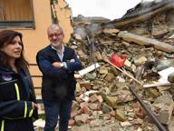 Maroni ad Amatrice: «I moduli di Expo per scuole e servizi»