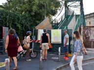 Porta Genova, chiuso per lavori il «ponte degli artisti»