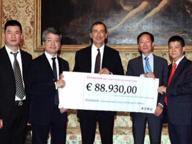 Post sisma, la comunità cinese di Milano ha raccolto 88.930 euro