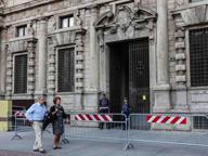 Palazzo Marino «blindato»