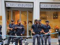 Rapina in gioielleria nel Quadrilatero Polsi legati alla commessa