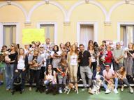 Premiati i cani-eroi e gli addestratori impegnati nei soccorsi del terremoto