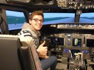 Un sogno divenuto realtà: Vittorio, 20 anni, pilota di Boeing per Ryanair
