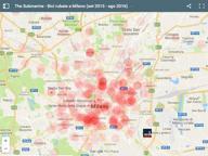 Milano, dove rubano più biciclette? Lo rivela una mappa interattiva