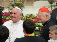 L'annuncio di Scola: il 25 marzo papa Francesco sarà a Milano
