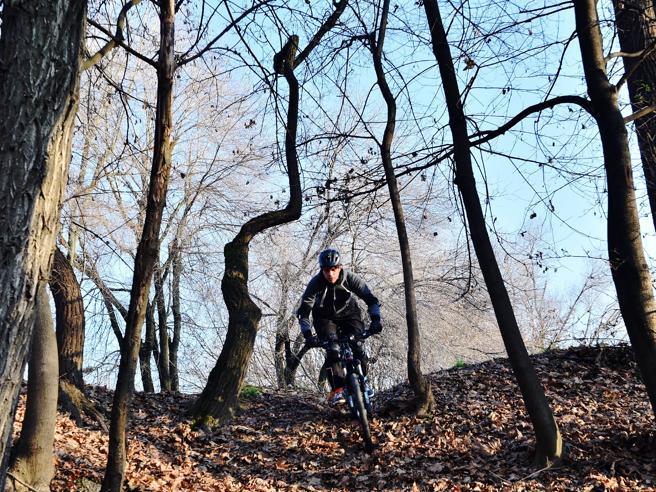 Scoppia la guerracontro i   biker «No alle Bmx al Monte Stella»Le immagini