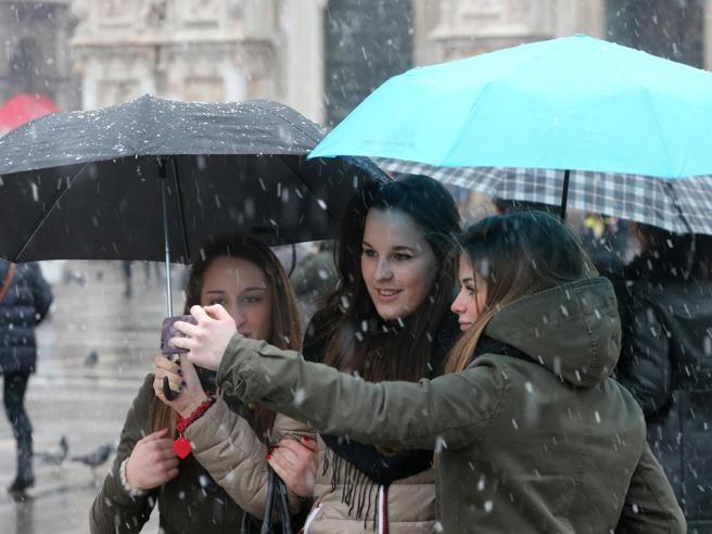 Attesa per martedì a Milano la prima nevicata della stagione