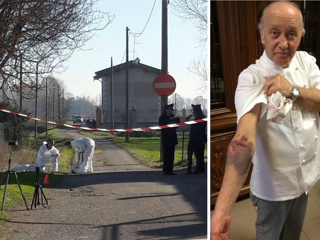 Il ristoratore che ha sparato al ladro: «Mi ha  afferrato e trascinato» Foto|Video