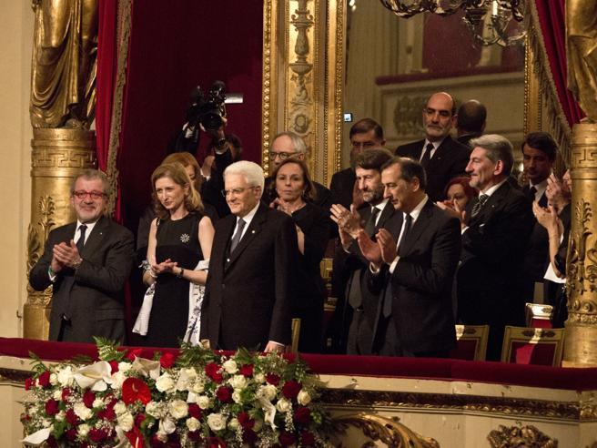 La prima volta di Mattarella alla Scala  per i 150 anni di Toscanini