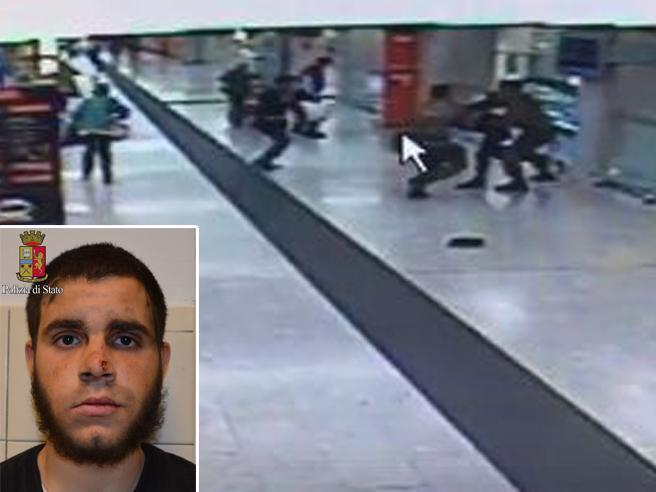 Hosni, l'aggressore della Centrale:«Solo e abbandonato». Su Facebookl'inno a Isis. Indagato per terrorismo