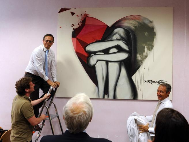 La street art sbarca in Tribunale, arriva l'opera dell'avvocato-writer