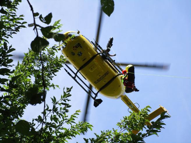 Aereo da turismo cade  in Valtellina: morti pilota e passeggero