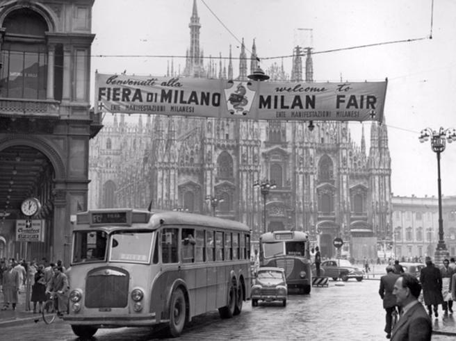 Milano in bianco e nero|Foto Nasce  l?archivio degli archivi