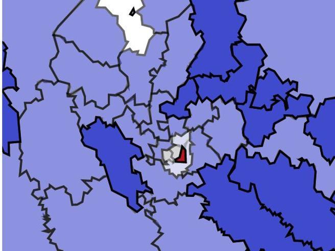 Milano «roccaforte» del Pd. Il partito resiste in città Guarda la mappa