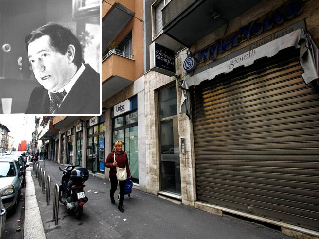 Milano, 1979: l'orefice Torregiani vittima dei terroristi nel suo negozio