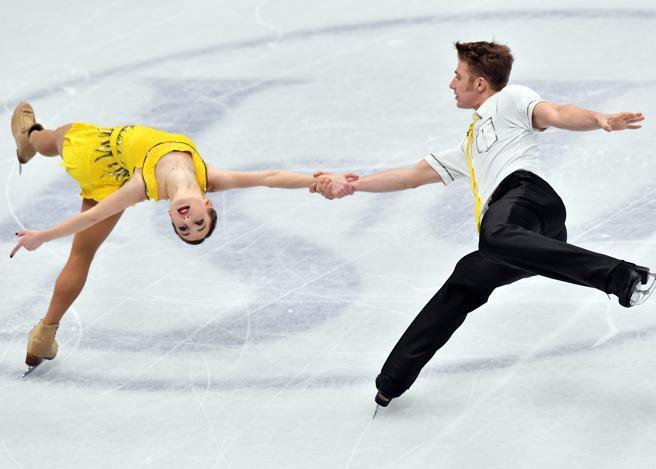 Mondiali di pattinaggio Milano 2018, le coppie sul ghiaccio