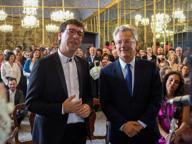 Paolo Hutter e Paolo Oddi, unione civile a Palazzo Reale