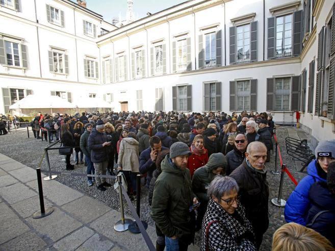 Milano caravaggio da record 420 mila visitatori in coda for Caravaggio a milano