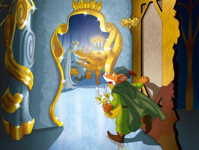 Geronimo stilton in anteprima le immagini del nuovo libro for Cruciverba geronimo stilton